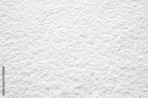 Obraz na plátně perfect fresh white snow background structure