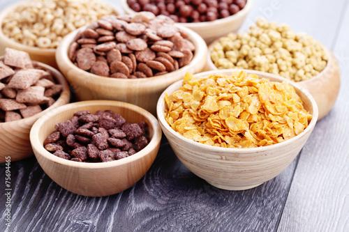 Foto lots of cereals