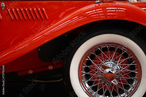 Vintage car spoke wheel #75782640