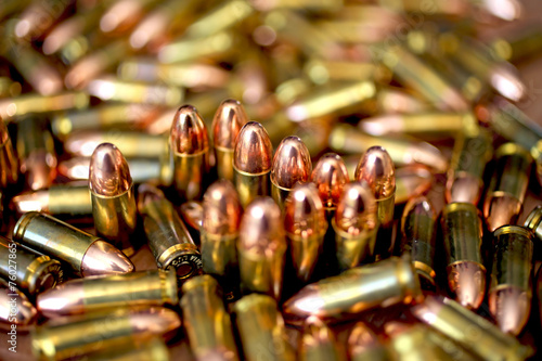 9mm ammo Fototapeta