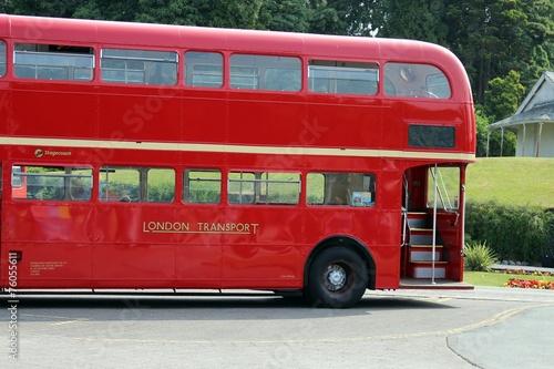 Wallpaper Mural london bus red bus