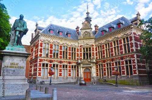 Juan VI de Nassau y la Universidad de Utrecht, Holanda Fototapete