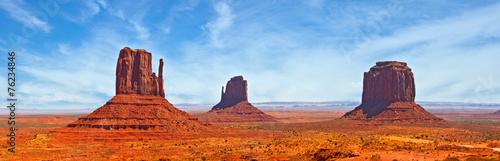 Fotografie, Obraz Nature in Monument Valley Navajo Park, Utah USA