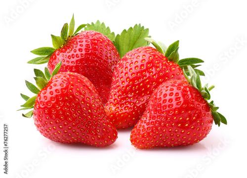Ripe strawberry #76277257