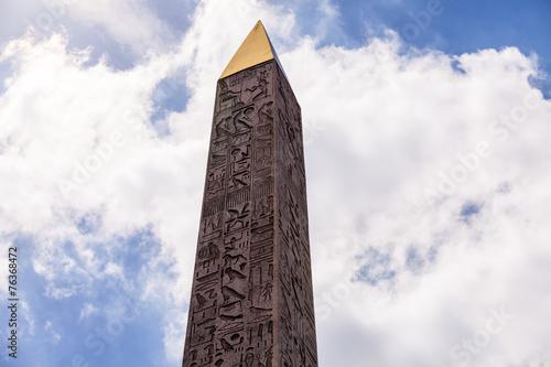 Fotografie, Obraz Obelisk in Paris
