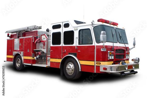 Stampa su Tela Fire Truck