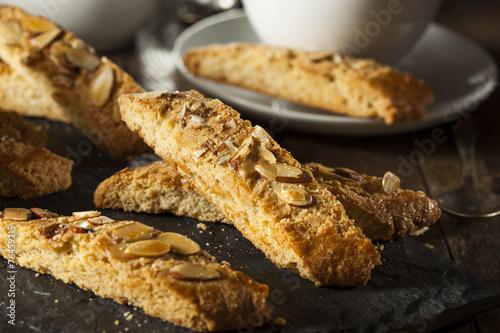 Fotografija Homemade Almond Biscotti Pastry