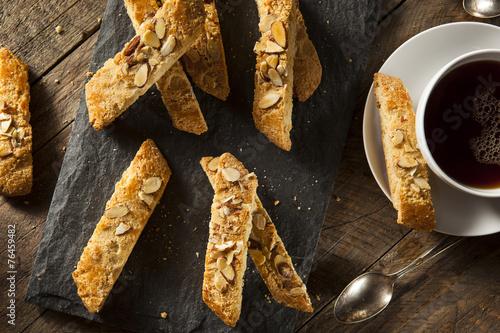 Homemade Almond Biscotti Pastry Fototapeta