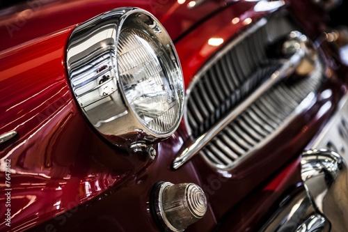 vintage old car #76471612