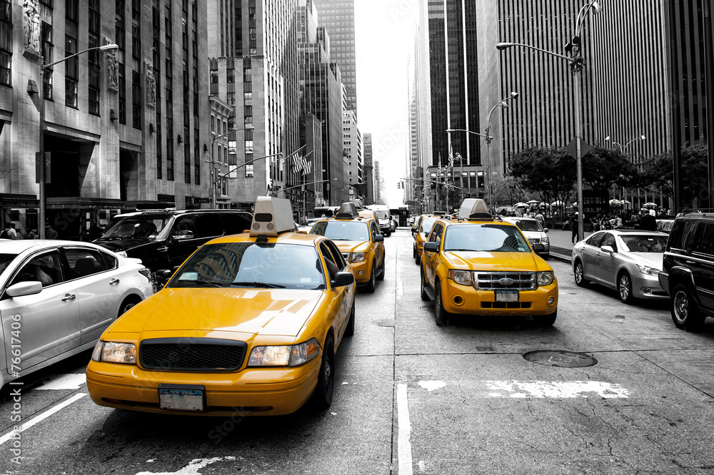 New York Taxi <span>plik: #76617406 | autor: Cla78</span>