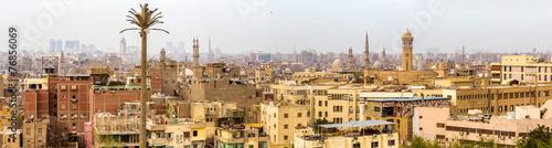 Panorama of Islamic Cairo - Egypt