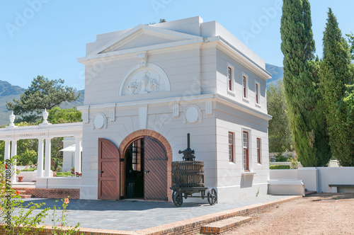 Huguenot museum in Franchoek Fototapeta