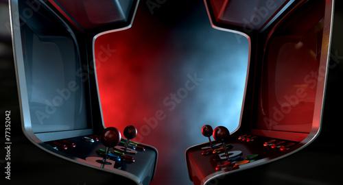 Foto Arcade Machine Opposing Duel