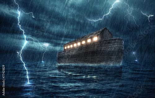 Noahs ark Fototapet