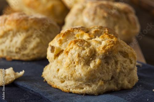 Fotografie, Obraz Homemade Flakey Buttermilk Biscuits