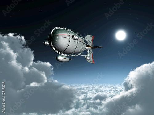 Photo Fantasy Airship