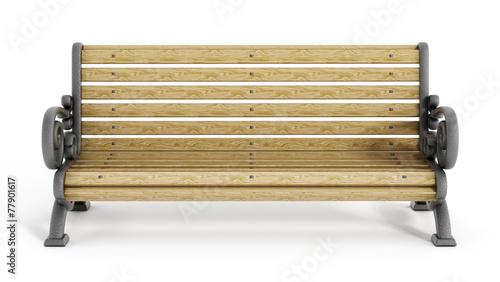 Slika na platnu Park Bench
