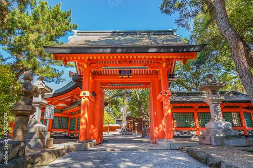 Fotografie, Obraz Sumiyoshi Grand Shrine in Osaka