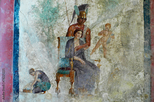 Photo pompeii art