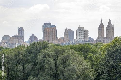 Canvas-taulu New York - Panorama da Central Park