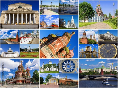 Moscow, Russia (collage)