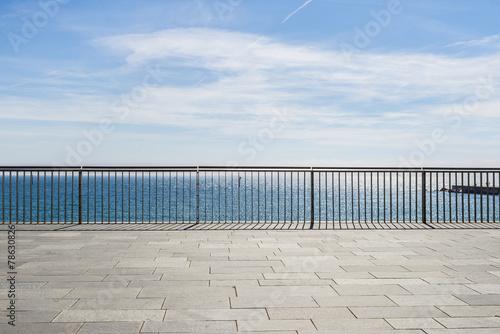 Fototapeta Seafront  in Barcelona
