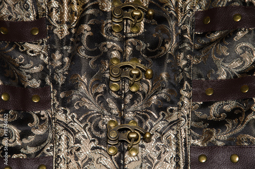 Chiusura del corsetto Fototapet