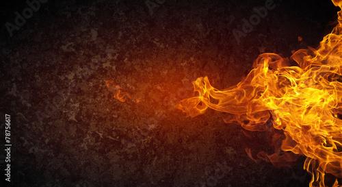 Fotografia Fire flames