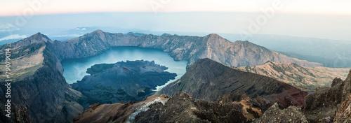 Vulkan Rinjani Indonesien #79079014