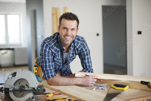 Photo He is the best carpenter in town
