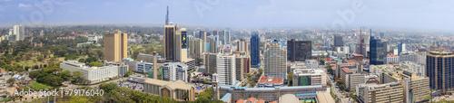 Photo aerial view of Nairobi