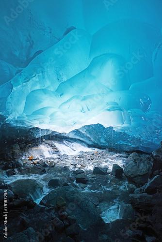 Fotografie, Obraz ice cave in alaska