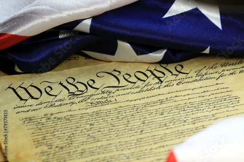 Wallpaper Mural United States Bill of Rights Preamble to the Constitution