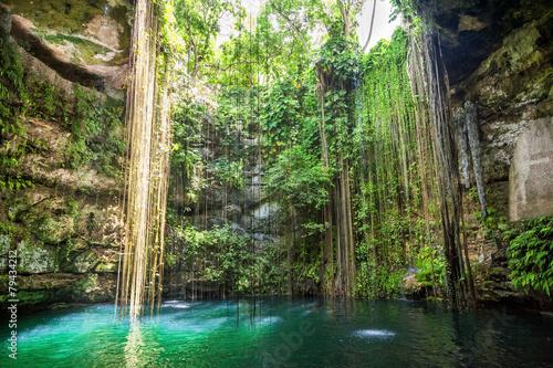 Foto Ik-Kil Cenote in der Nähe von Chichen Itza, Mexiko
