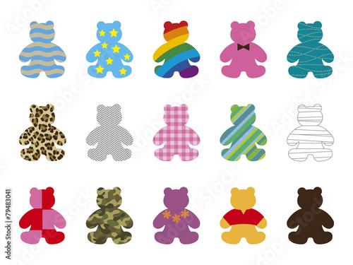 Teddy bears illustration #79483041