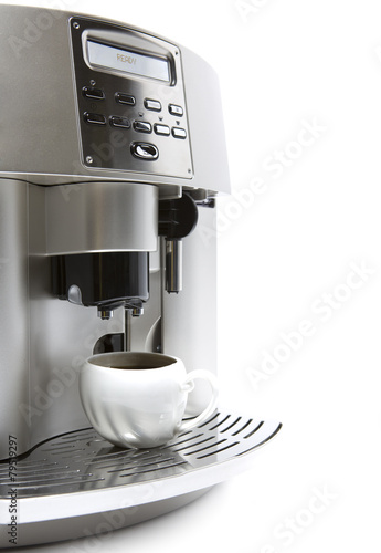 coffee maker and cup Fototapete
