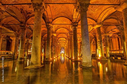 Slika na platnu The Basilica Cistern, Istanbul