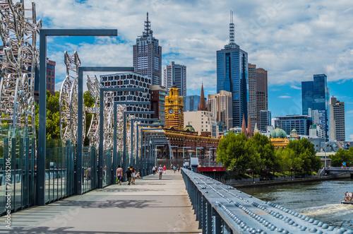 Fototapeta premium Widok na Melbourne 6