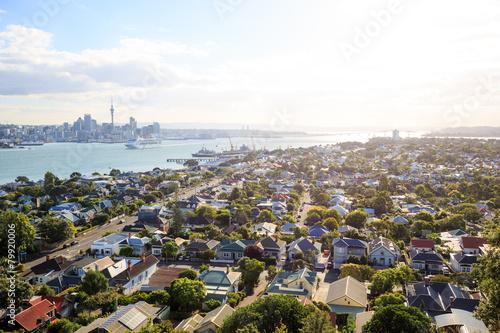 Auckland skyline from Devonport