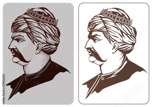 Canvas Print Osmanlı padişahı yavuz sultan selim