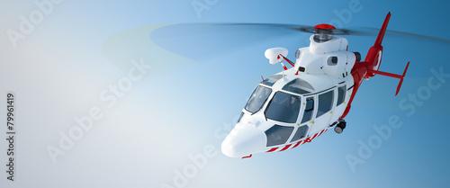 Obraz na płótnie Helicopter