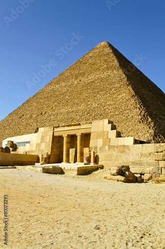 Pyramid of Khufu #80073293