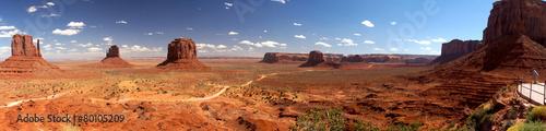 Fotografija Monument valley Panoramic