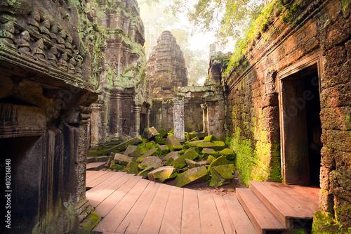 Canvas Print Ta Prohm Temple, Angkor, Cambodia