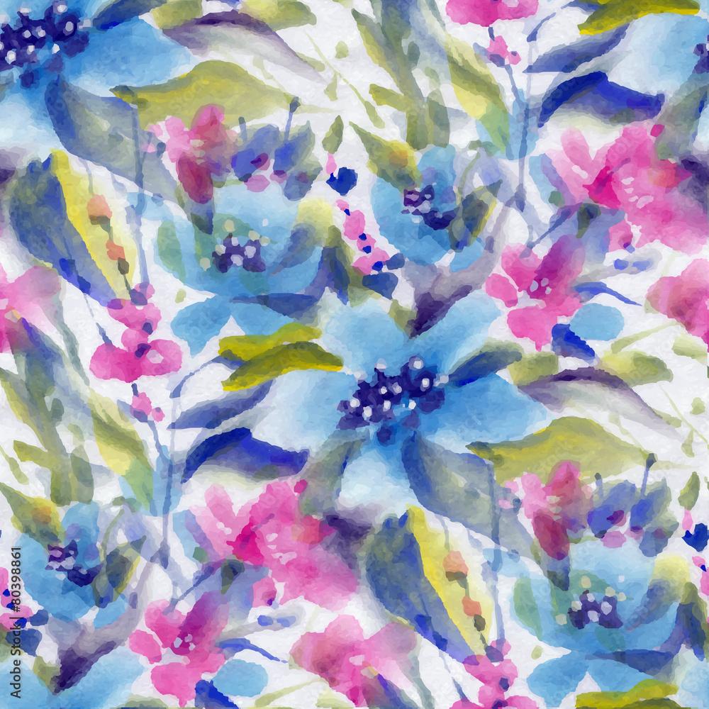 Kwiaty w akwarela <span>plik: #80398861   autor: tiff20</span>
