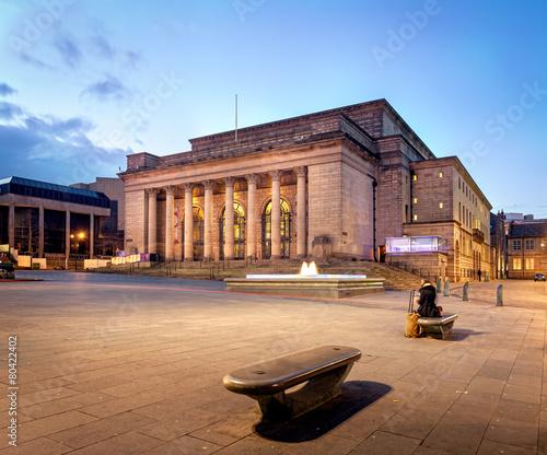 Fotografie, Tablou Building of Sheffield city Hall, UK