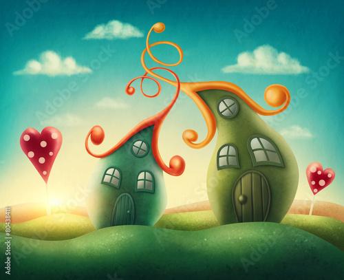 Fotografia Fantasy houses
