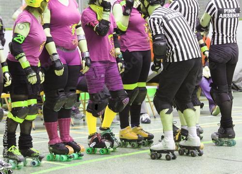 Fotografia roller derby