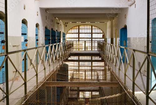 Obraz na płótnie Inside in a prison in Germany