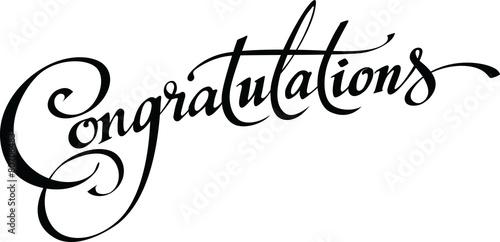 Congratulations Fototapeta